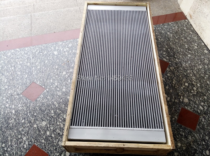 Free shipping 10005313 split type aluminum plate fin heat exchanger air cooler oil cooler for CompAir L22-250 air compressor