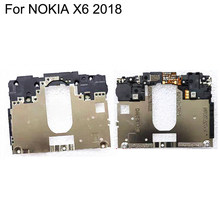 For NOKIA X6 X 6 2018 Original Back Frame Mid Chasis Shell Case Cover on the Motherboard and WIFI Antenna Replacement Parts(China)