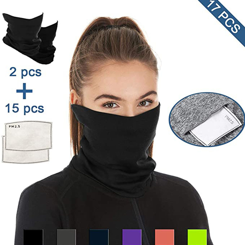 Hb735a2bf9937494386be79bbf043c8bau Multifunctional Head Scarf Maske Facemask Face Mouth Neck Cover With Safety Filter Mascarillas Washable Bandanas Reusable