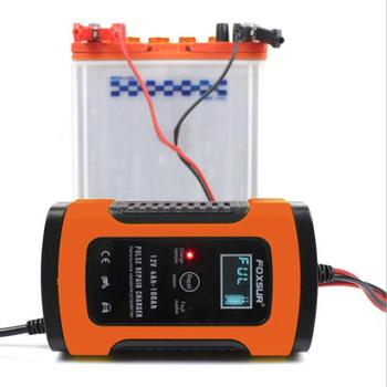 12V6A Universal Motorcycle Car Battery Charger Charger Full Intelligent Repair Type Lead Acid Storage Charger image