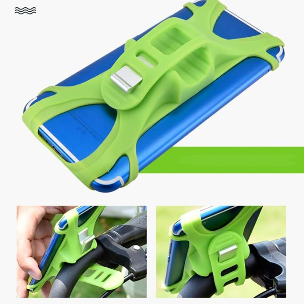 For XIAOMI M365 Electric Scooter Recommended Of Silicone Mobile Phone Bracket Against Shock Bicycle Mobile Phone Stents