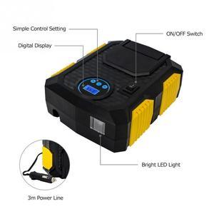 Image 4 - Gonfleur de pneu numérique DC 12 volts voiture Portable compresseur dair pompe 150 PSI voiture compresseur dair pour voiture vélos motos