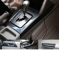 Lsrtw2017 for Subaru Forester Car Central Control Accessories Window Gear Panel 2008 2009 2010 2011 2012 Carbon Fiber