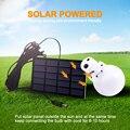 Junejour на открытом воздухе 12 Светодиодная лампа на солнечных батареях переносная лампа на солнечных батареях перемещение висит аварийного о...