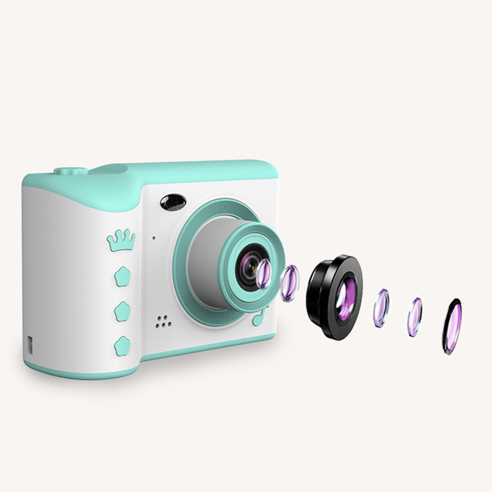 2.8 Inch Mini Front Rear Travel Kids Photo Gift Recording High Definition Large Capacity Dual Lens Portable Digital Cameras