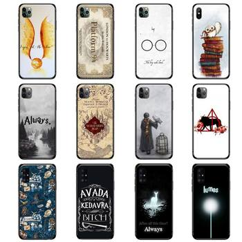 aesthetics Phone Case for iPhone 11 12 Pro XS MAX 8 7 6S Plus X XR Samsung Note 9 10 S9 S10 S20 A51 Plus Ultra Harries Potter image