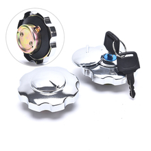 1PCS Motorcycle Fuel Gas Tank Cap Cover Lock Set For CG125 Spare Parts