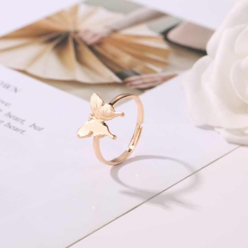 WKOUD EAM, женские винтажные кольца с металлическим бантом, простые очаровательные ювелирные изделия, новинка 2019, Женские аксессуары, вечерние, подарок ZJ379