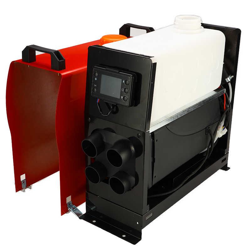 調整可能な 12 v 5000 ワット空気 diesels 駐車ヒーターオールインワン車用トラックキャラバンボート lcd スイッチモニタのリモートコントロール