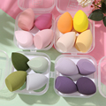 4 шт Новый Красота набор яиц для массажа тыквы в форме капли воды буфами на рукавах Пуховок для красочный набор подушки Cosmetic губка для яиц дл...