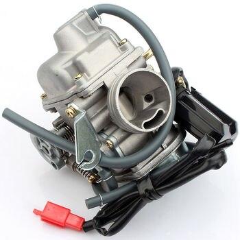 24MM Carburetor Carb 110 125 150cc For ATV Go Kart Roketa Quad GY6 Scooter Moped goofit cf250 ch250 cn250 carburetor for gy6 250cc atv quad moped go kart n090 235