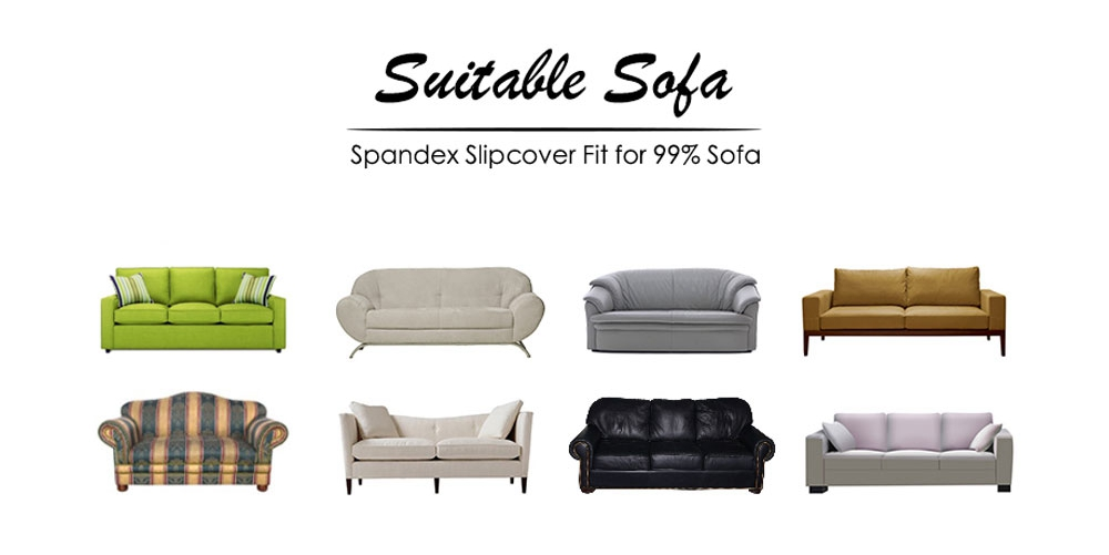 mobiliário capas de sofá elástico para sala