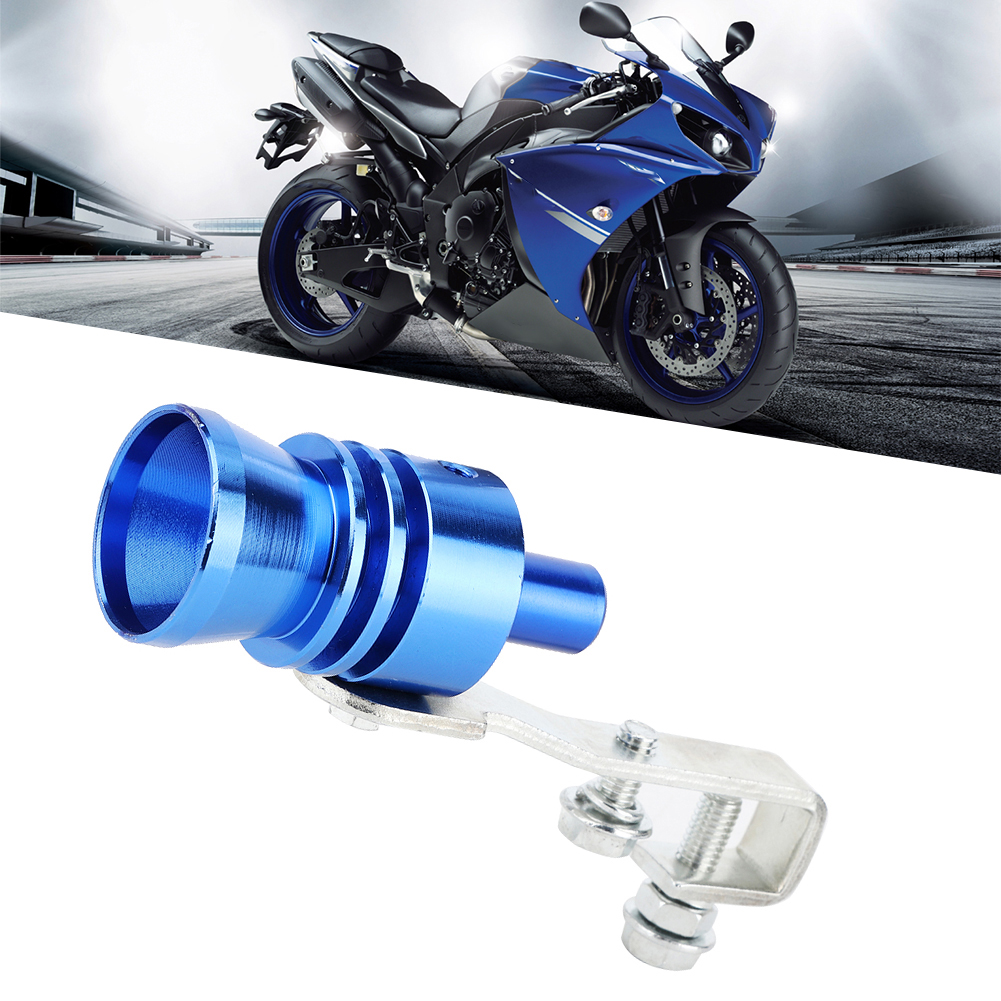 Aluminum Alloy Modified Turbine Whistle Exhaust Muffler Pipe For Car Motorcycle