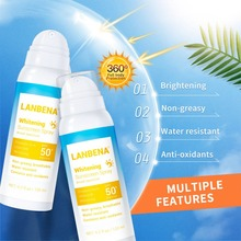 LANBENA shine brown cream Sunblock Lasting Protective whitening spray SPF 50pa+++ Anti-uv Oil-control Facial Sunscreen Spray