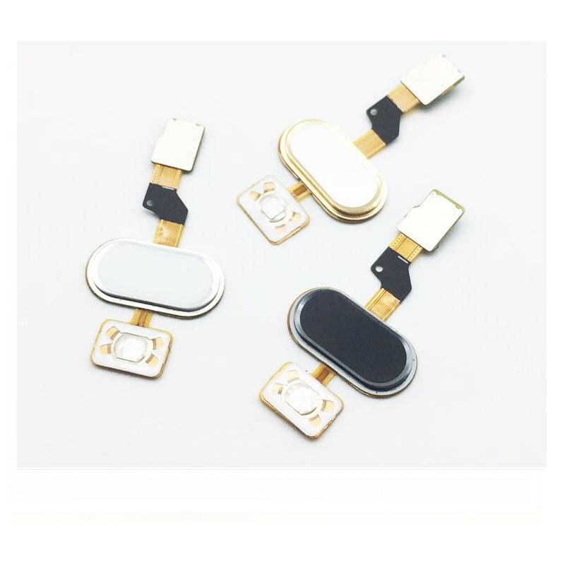10 pcs /Lot, 100% Tested  Home Button Fingerprint Sensor Button Flex Cable Ribbon For Meizu M3S Replacement Parts