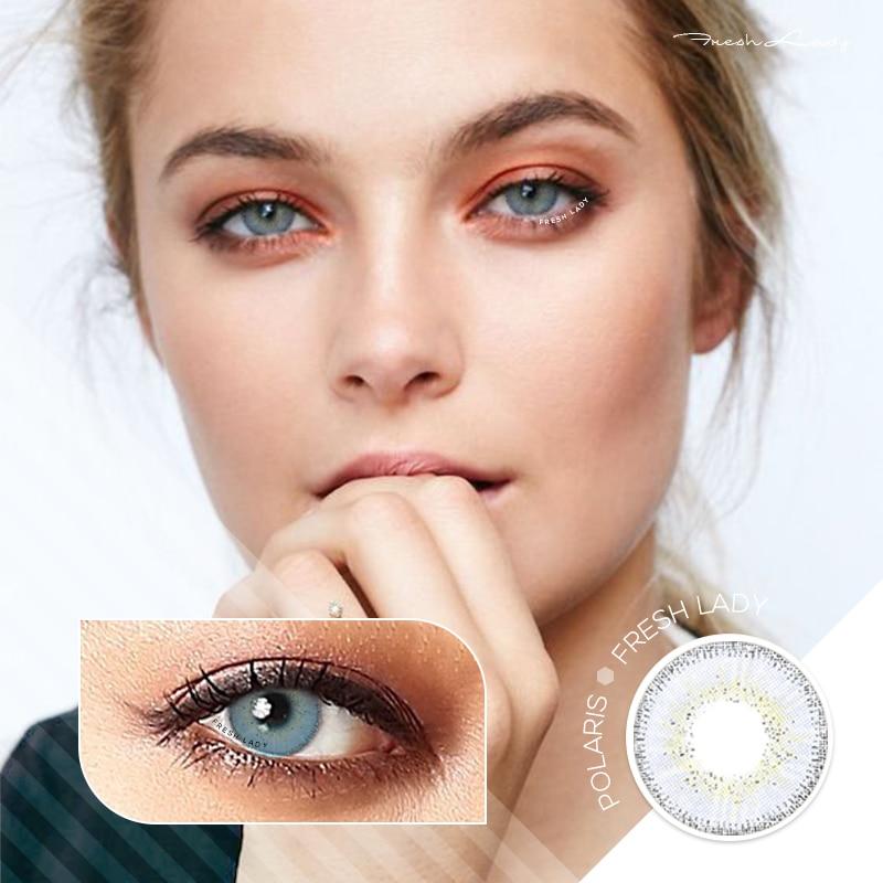 Hot Offer 78164 Fresh Lady 2pcs Dream Series Colored Contact Lenses Eye Natural Contact Lenses Color Contact Lens For Eye Lentes De Contacto Cicig Co