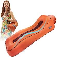 BEAUTRIP tumbona de aire inflable, sofá cama para vagos, camas para acampar, playa, Hangout, colchón impermeable, flotadores de agua