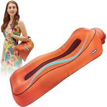 Beautrip espreguiçadeira de ar inflável lounge sofá cama preguiçoso camas de dormir acampamento praia hangout sofá à prova dwaterproof água colchão flutuadores