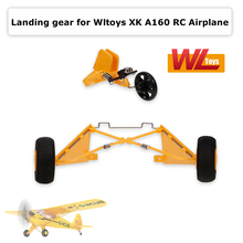 Original Wltoys XKA160.0008 Front/Rear Landing Gear for A160 RC Airplane Aircraft Spare Parts Glider Accessories