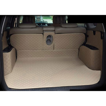 lsrtw2017 leather car trunk mat cargo liner for toyota rav4 2005 2006 2007 2008 2009 2010 2011 2012 xa30 interior accessories custom fit luxury pu leather car trunk mat cargo mat for toyota venza 2008 2017 5d cargo liner