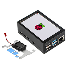 Raspberry Pi 3.5 Inch Touch Screen 480*320 MHS LCD Display With ABS Case Cooling Fan For Raspberry Pi 4 Model B 4B 2GB 4GB 8GB