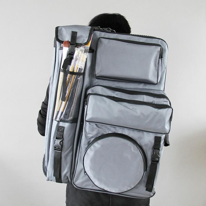 4K Art Bag for Painting Student Travel Sketch Bag Drawing Board Sketch Tools Storage Portable Artist Painting Bag Art Supplies|Art Sets| |  -