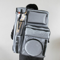 4K Art Bag for Painting Student Travel Sketch Bag Drawing Board Sketch Tools Storage Portable Artist Painting Bag Art Supplies
