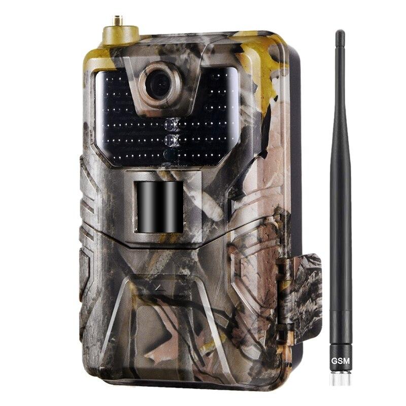 Камера наблюдения за дикой природой 20 МП 1080P, фотоловушка, ночное видение, 2G Sms Mms Smtp, электронная почта, сотовые охотничьи камеры HC900M