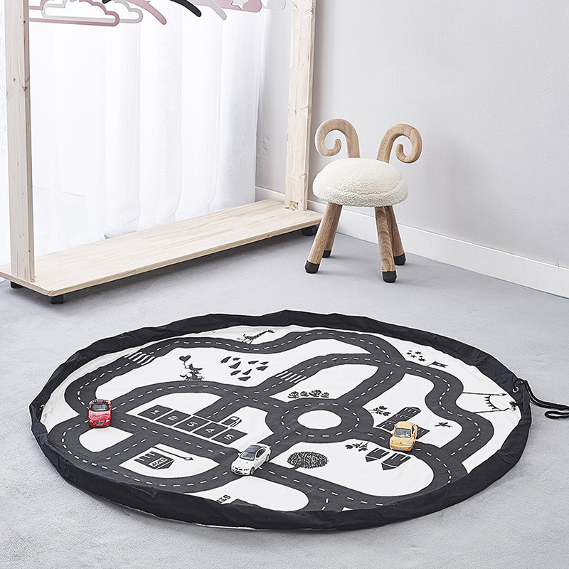 Infant Playmat Carpet Baby Room Newborn Activity Developing Mat Outdoor Carpets Kids Toys Storage Bag
