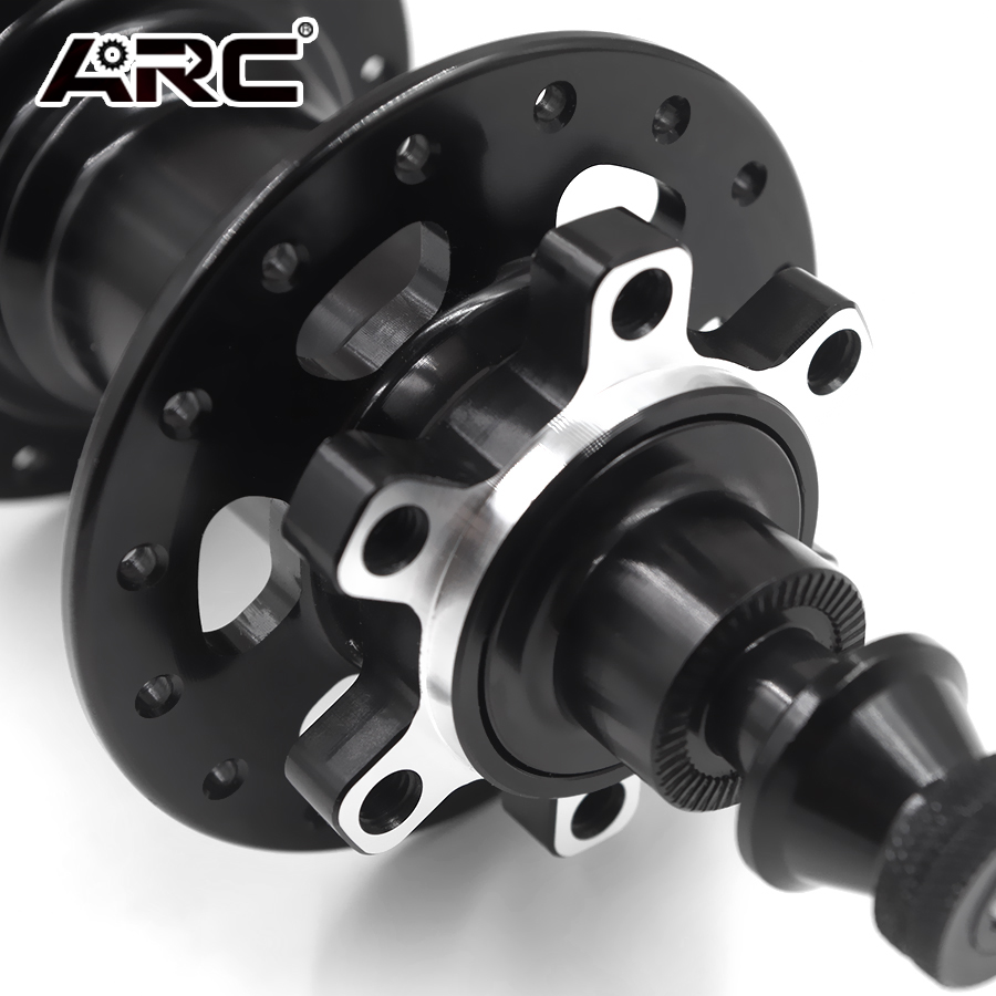 New Wheel Tech Rear Hub 6 Bolts Disc Brake QR 8//9//10 Spd MTB Shimano Black 135mm