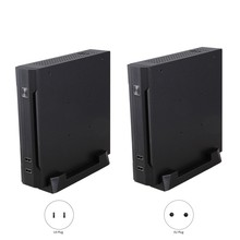 Mini-ITX Slim Small Form Factor Computer Case HTPC Computer Case with 2 x USB2.0 12V 8A Power Adapter(China)