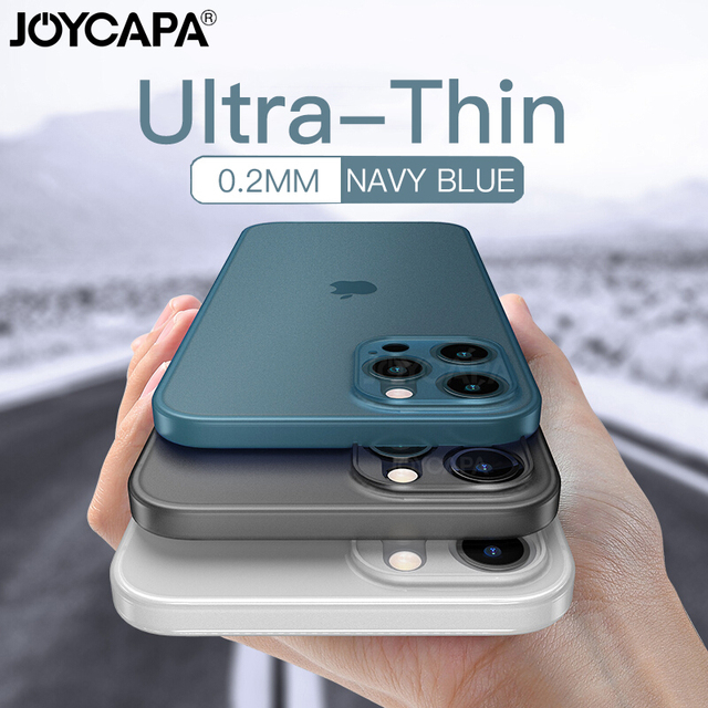 Ultra Thin Matte Phone Case For iPhone 12 11 Pro Max X XR XS Max 7 6 6s 8 Plus SE 2020 Lens Full Cover Shockproof Frosted Case 1