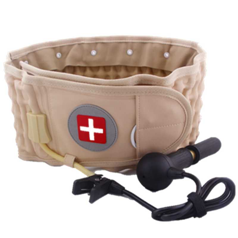 Lumbale Spinale-Air Decompressie Terug Riem Lucht Tractie Taille Protector Riem Pijn Lagere Lendensteun Fit Voor 29 Inches -49 Inch