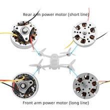 Echt Voor/Achter Gimbal Propeller Arm Motoren Vervangende Onderdelen Voor Dji Fpv Combo Drone Service Deel