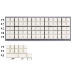 Image 2 - Planck keycaps mx 기계식 키보드 용 빈 체리 프로파일 키