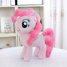 Toys Pink Plush-Doll Unicorn Stuffed Animals Kids PP Cotton 30CM Pie Brinquedos Peluche
