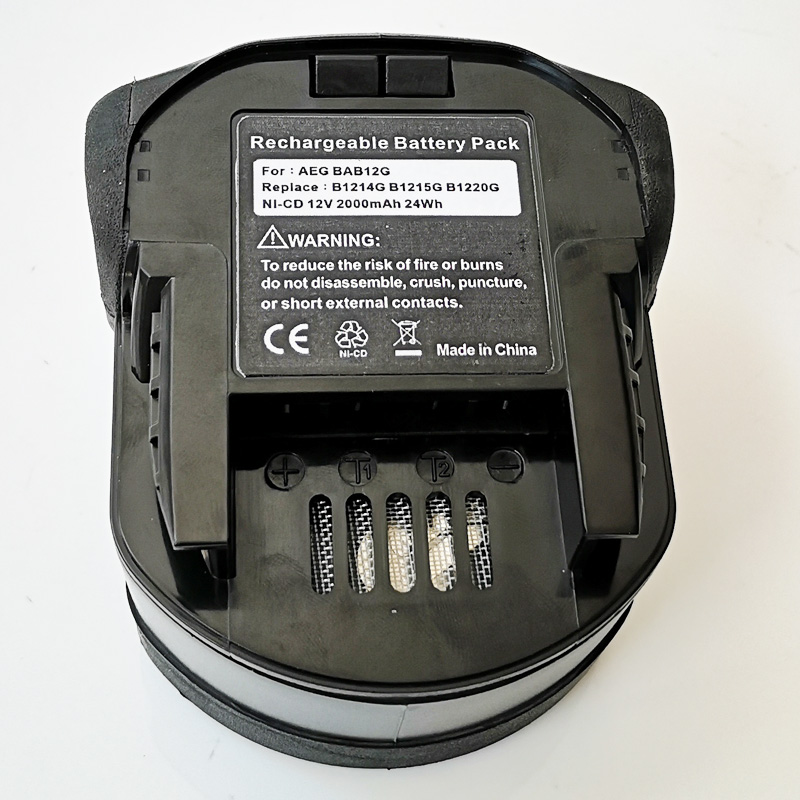 US <font><b>12V</b></font> Rechargeable Ni-Cd battery cell pack 3.0Ah for AEG cordless Electric drill B12 BX12 BXS12 BXL12 MX12 MXS12 image