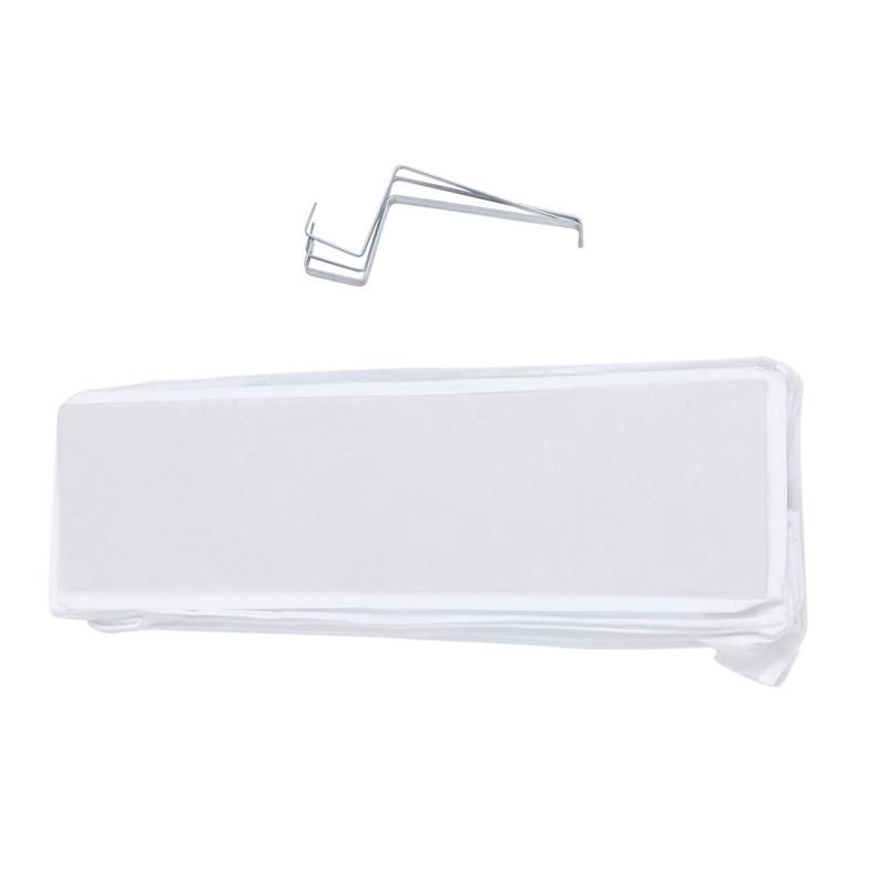 26 Pairs Over Door Hanging Stand Shoe Rack Shelf Storage Organiser Pocket Holder Creamy White
