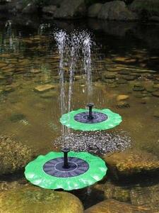 Fountain-Pump Patio-Decoration Solar-Panel-Kit Aquarium Bath Fish-Pond Garden Outdoor