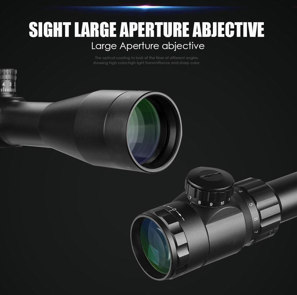 3.5-15x40 sfy marca caça rifle vista espelho