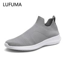 Yaz Moda Erkek Spor Ayakkabı Nefes Erkekler moda ayakkabılar Için Sneakers Üzerinde Kayma Erkekler Ucuz loafer ayakkabılar Olmadan