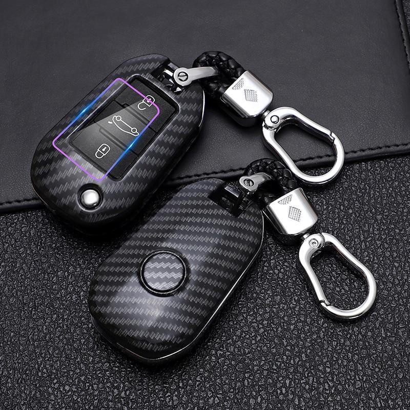 Чехол из АБС-пластика для автомобильного ключа с пультом дистанционного управления, чехол для Peugeot 3008 208 308 508 408 2008 307 4008, аксессуары для автом...