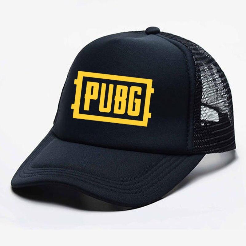 Game PUBG Hat Cosplay Prop Baseball Cap Print Unisex Women Men Parent-child Hats Mesh Visor Outdoor Sun Hat Adjustable Caps