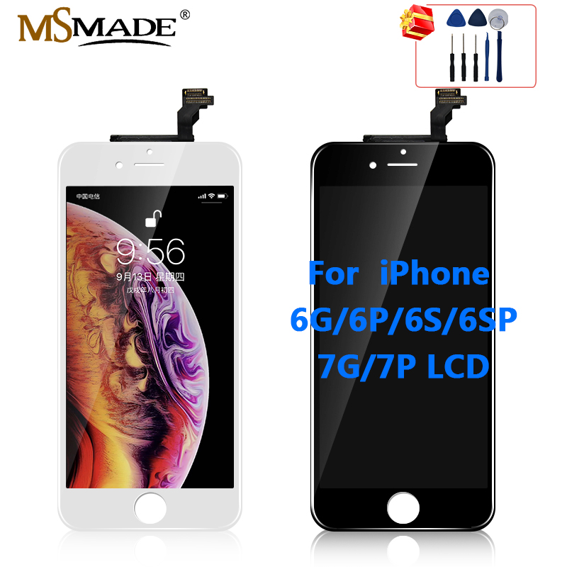AAA Quality LCD For iPhone 6 6s Replacement Screen Display Digitizer Touch Screen Assembly For iPhone 7 7P 6 Plus LCD Screen