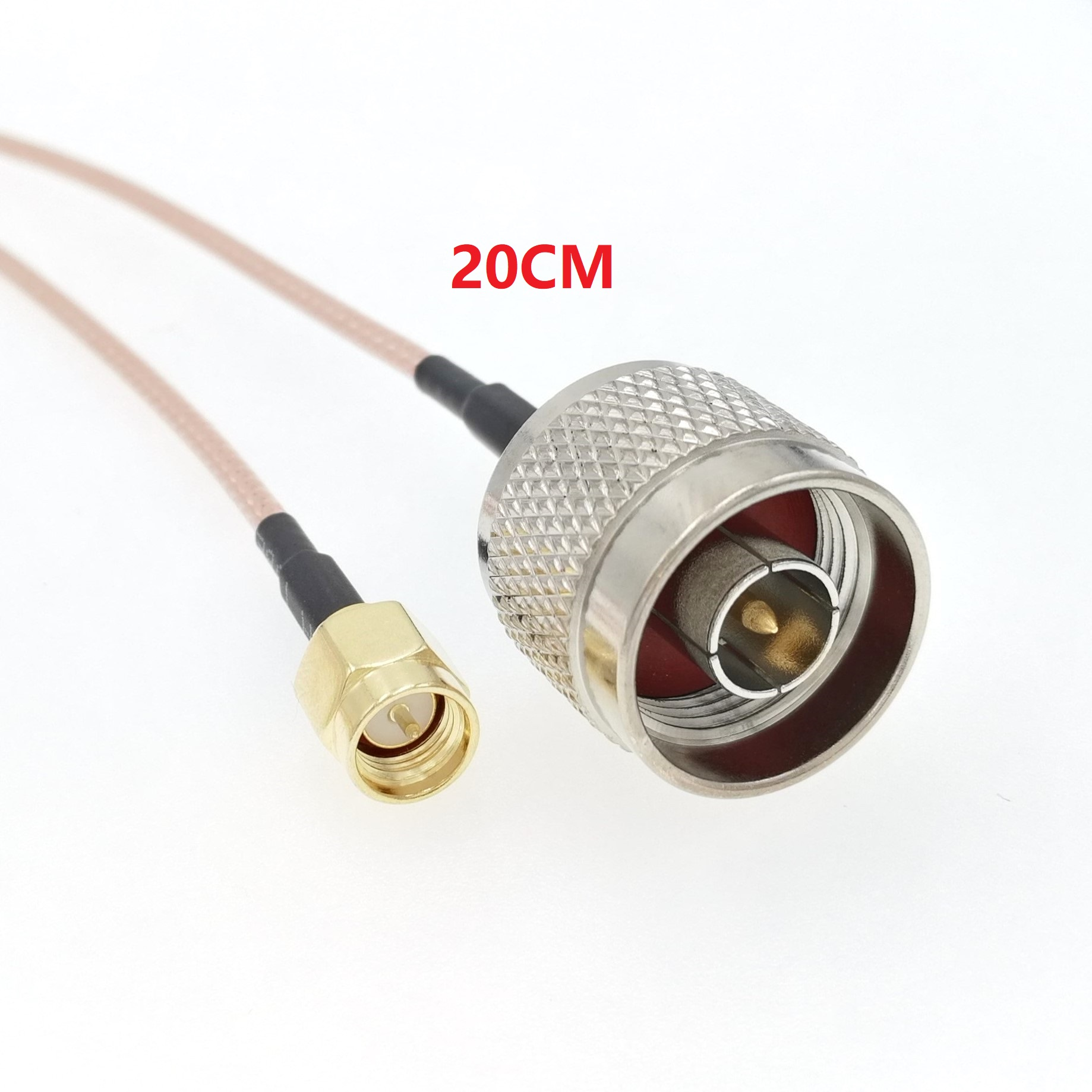ANHAN SMA male to N male Adapter coax Cable RG-316/U Pigtail Wire ...