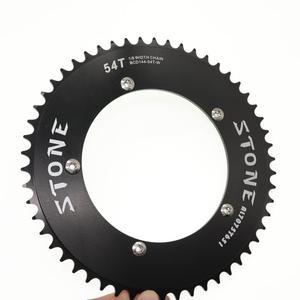 Image 4 - Stone Chainring 144 BCD do toru rower z ostrym kołem fixie 42/44/46/48/50/52/54/56/58/60T kolarstwo 144BCD płytka zębata koła łańcuchowego