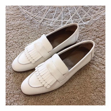 Women's Shoes Spring Slip-On Sweehearttop-Quality Genuine-Cow-Leather Casual Loafers
