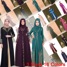 Muslim Woman Turkish Abaya Dubai 2019 Pakistan Turkey Robe Caftan Islamic Clothing Ladies Kaftan Dress Femme Islam Kimono Black