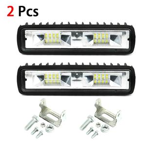 1/2Pcs 16LED Work Light Bulb 1