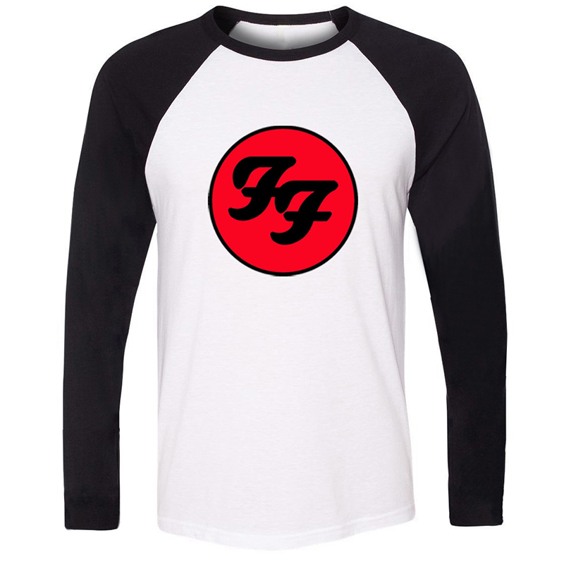 Drift King Van Halen Band Foo Fighters Hard Rock And Roll Band Mens Guys Printing Graphic Tee Long Sleeve Cotton Tshirts image